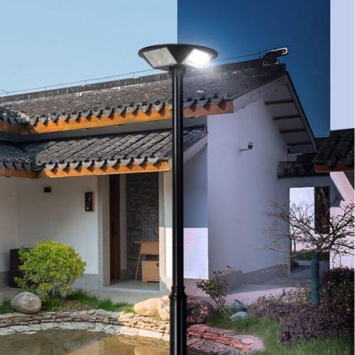 Đèn chiếu 360 độ năng lượng mặt trời MK-79250 250W| Thiết kế thông minh